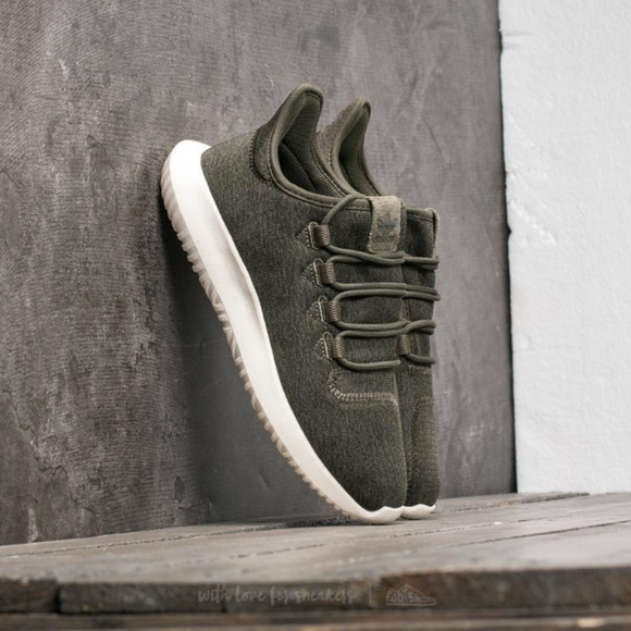 check out 0e16a 8ffce Adidas Originals Tubular Shadow Forest/Olive Green Boutique